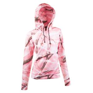 Huntworth Misses Pink Camouflage Performance Hoodie