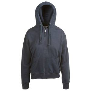CG | CG Misses Navy Unlined Fleece Full Zip Hoodie