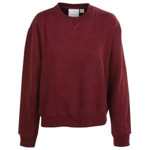 CG | CG Misses Burgundy Fleece Crew Sweatshirt