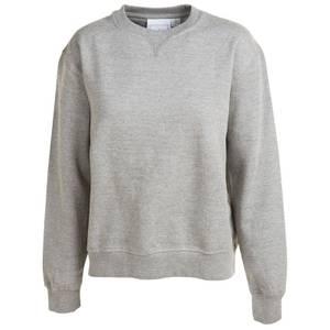 CG | CG Misses Heather Gray Fleece Crew Sweatshirt