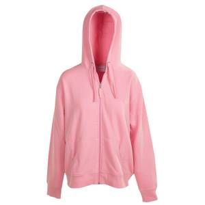 CG | CG Women's Pink Unlined Fleece Full Zip Hoodie
