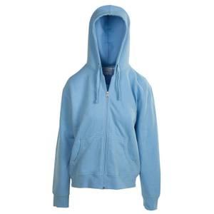 CG | CG Women's Baby Blue Unlined Fleece Full Zip Hoodie