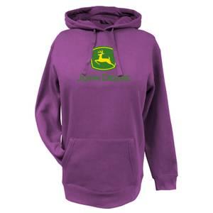 John Deere Misses Fuchsia Logo Hoodie