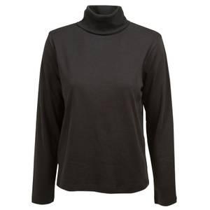 CG   CG Women's Black Silvia Long Sleeve Turtleneck Shirt