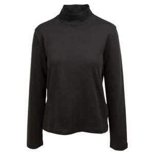 CG | CG Women's Black Pixie Long Sleeve Mock Neck Shirt