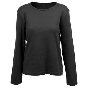 CG | CG Women's Black Tabitha Long Sleeve Crew Neck Shirt