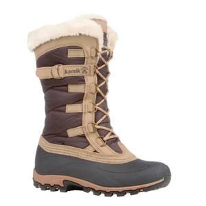 Kamik Women's Dark Brown Snowvalley Winter Boots at Blain