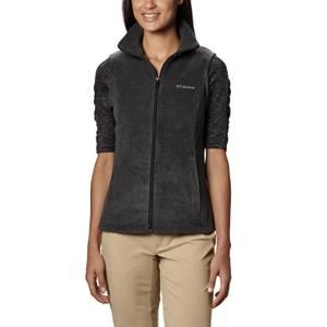 Columbia Sportswear Company Misses Charcoal Gray Benton Springs Fleece Vest