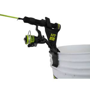 Ht enterprises clamp on bucket rod holder at blain 39 s farm for Fleet farm ice fishing