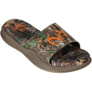 Realtree Outfitters Men S Camo Zack Slide Sandals At Blain