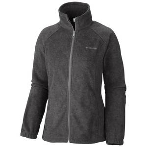 Columbia Sportswear Company Misses Charcoal Heather Benton Springs Full Zip