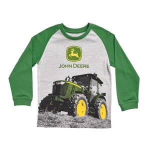 John Deere Boy 39 S Heather Gray Green Trademark Tractor T