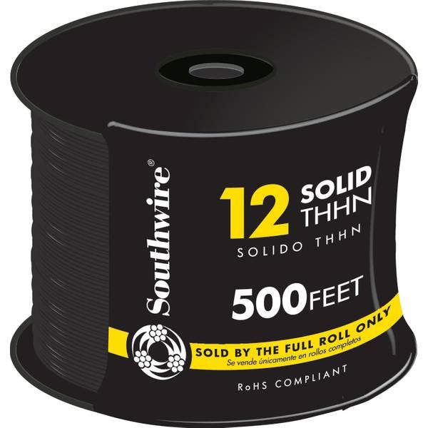 12 Gauge THHN Solid Conduit Wire