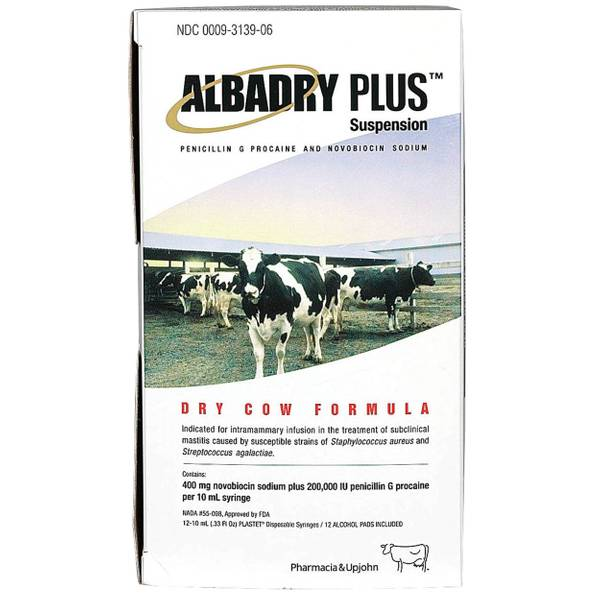 Albadry Plus Mastitis Treatment