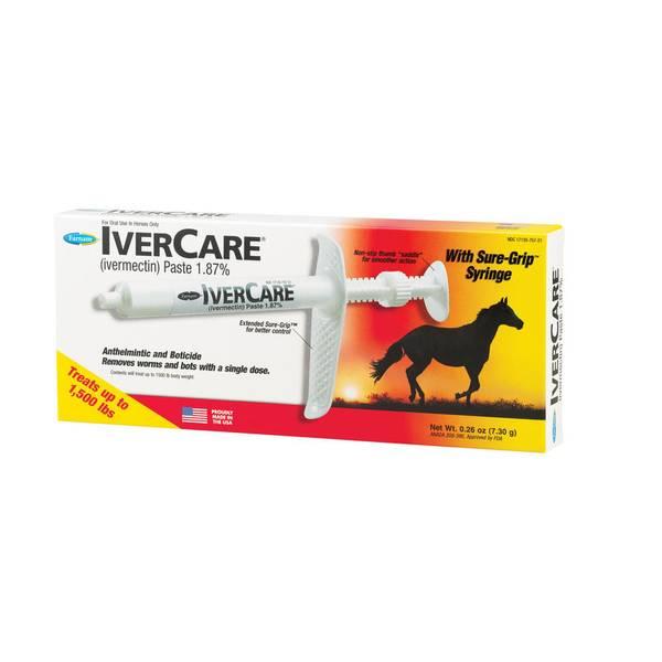 IverCare (Ivermectin) Paste 1.87%