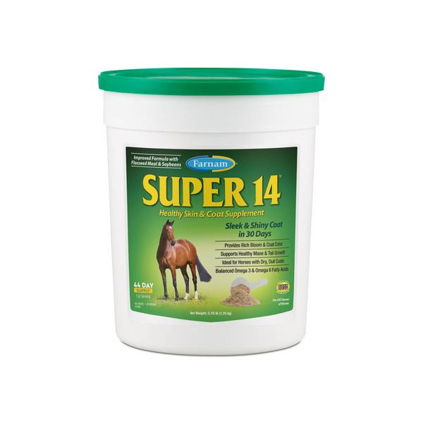 Super 14 Horse Supplement for Skin & Coat