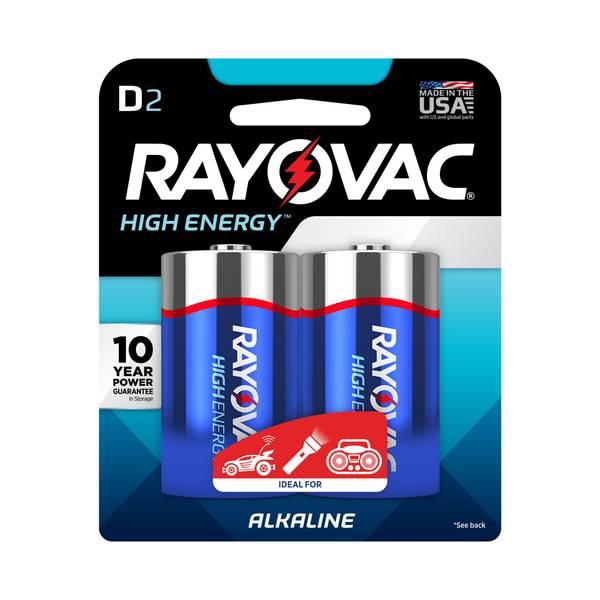 """D"" Alkaline Batteries"