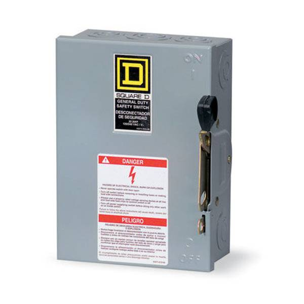 Indoor Fusible Safety Switch