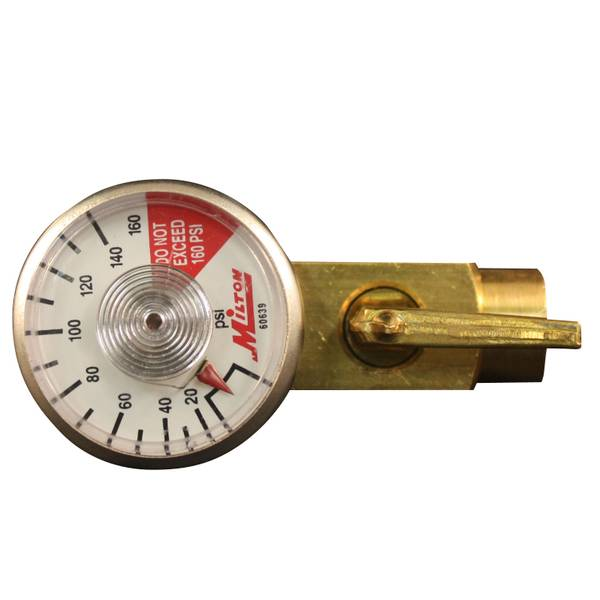 In - Line Regulator with Gauge