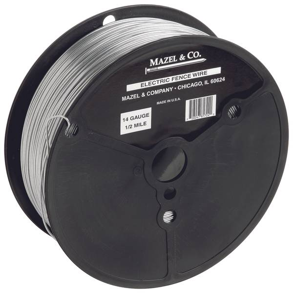 electric fence wire mazel amp co 14 electric fence wire 10929