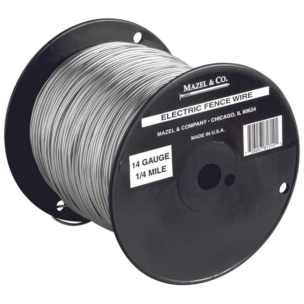 14 gauge electric fence wire