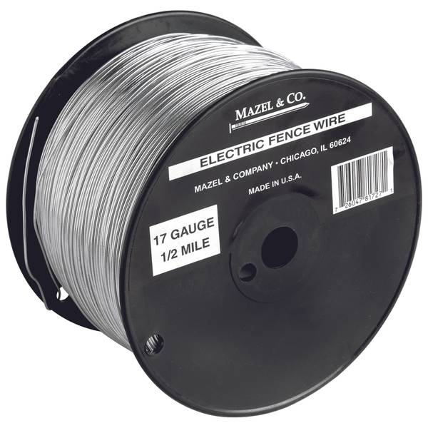 Mazel Amp Co 17 Gauge Electric Fence Wire