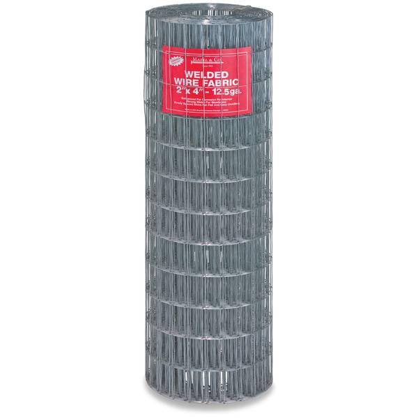 100' 12-1/2 Gauge Welded Wire Fence