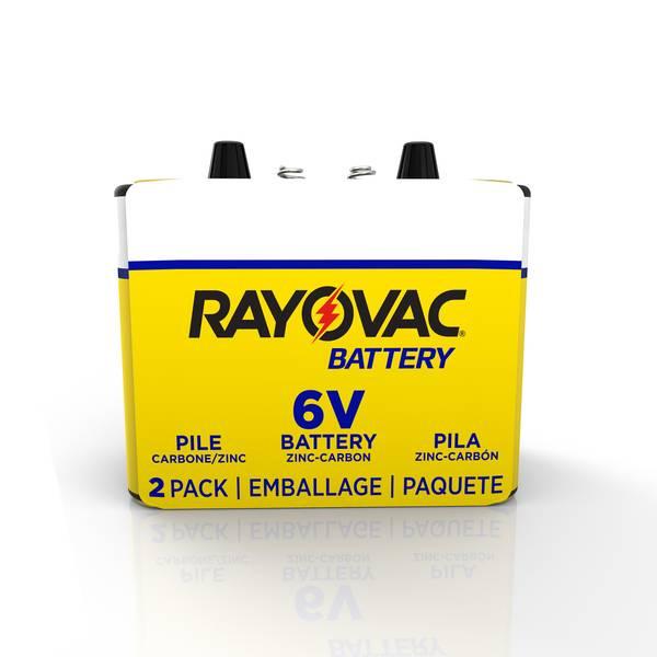 Heavy Duty Spring Terminal Lantern Battery 2-Pack