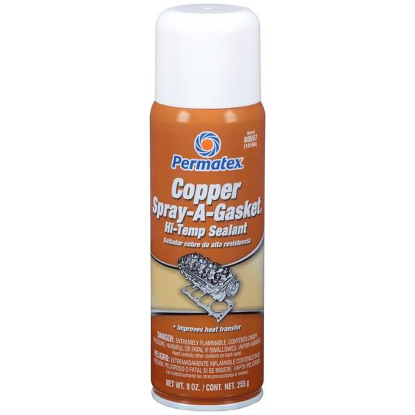 Copper Spray - A - Gasket Hi - Temp Sealant