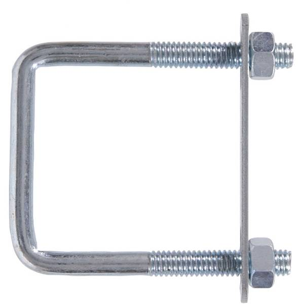 Square U Bolt with Hex Nuts