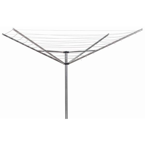 "Sunline Umbrella Clothes Dryer 72"" H X 73"" Dia. 12 Line Aluminum"