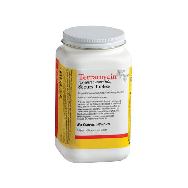 Terramycin Scour Tablets