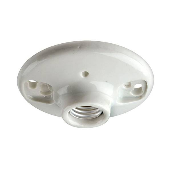 One Piece Top Wired Outlet Box Lampholder