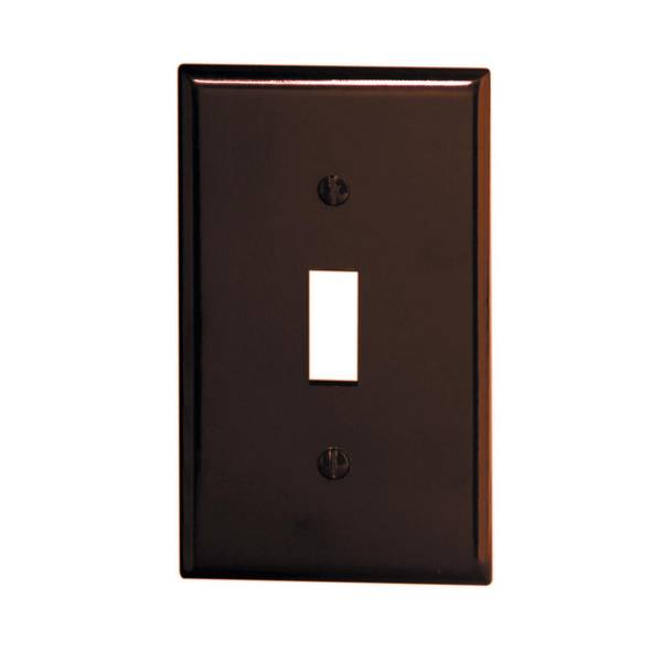 1 Gang 1 Toggle Standard Size Toggle Switch Wallplate