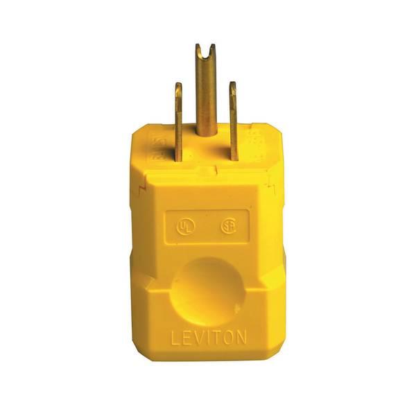 Python Industrial Grade High Visibility Yellow Plug