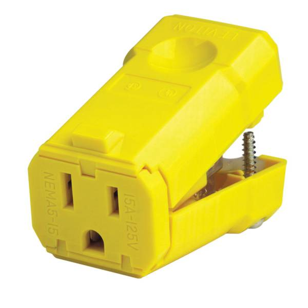 Python Industrial Grade High Visibility Yellow Connector