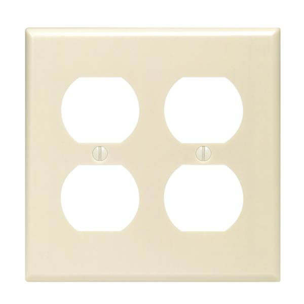 2 Gang Outlet Plate