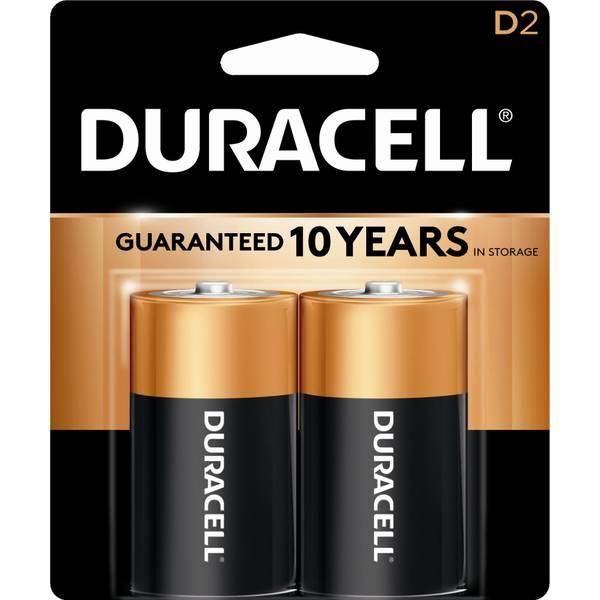 """D"" Coppertop Alkaline Battery"