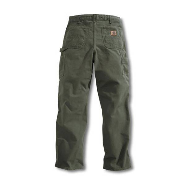 Men's Moss Washed Duck Work Dungarees