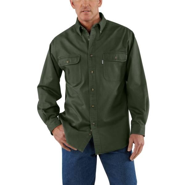 Men's Moss Sandstone Twill Shirt