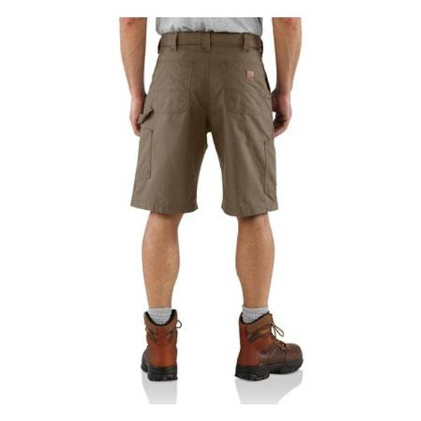 Men's Light Brown Canvas Work Shorts