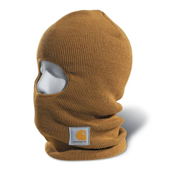 Men's Brown Acrylic Face Mask