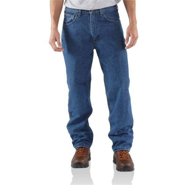 Men's Darkstone Relaxed Fit Straight Leg Jeans
