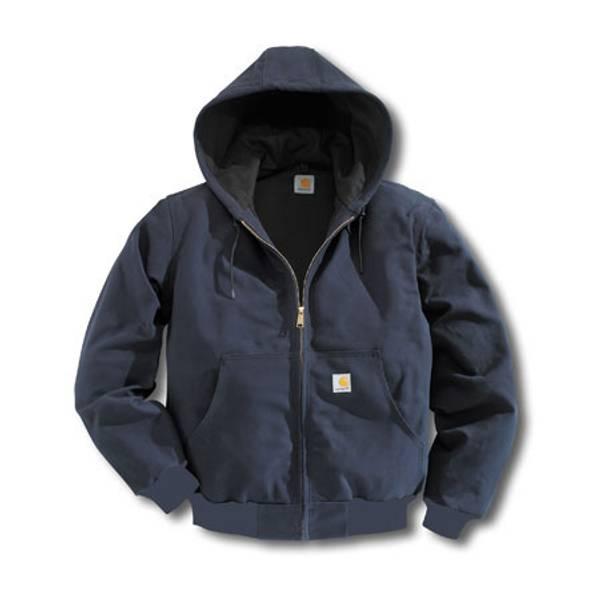 Big & Tall Men's Thermal Lined Dark Navy Duck Active Jacket