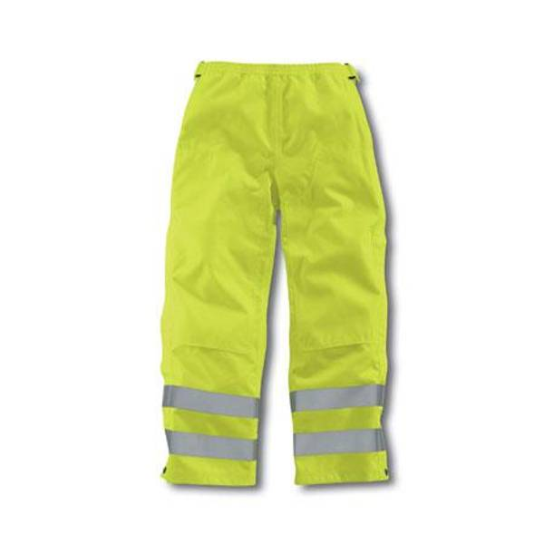 Men's Bright Lime High-Visibility Class E Waterproof Pants