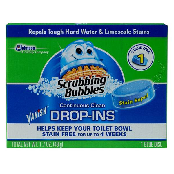 Scrubbing Bubbles Vanish Drop Ins Automatic Toilet Bowl