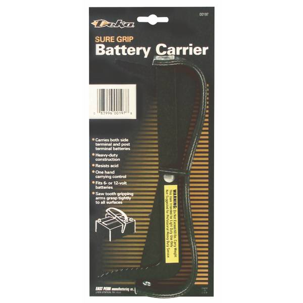 Sure Grip Battery Carrier