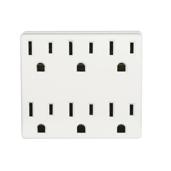 6 - Way Plug Adapter