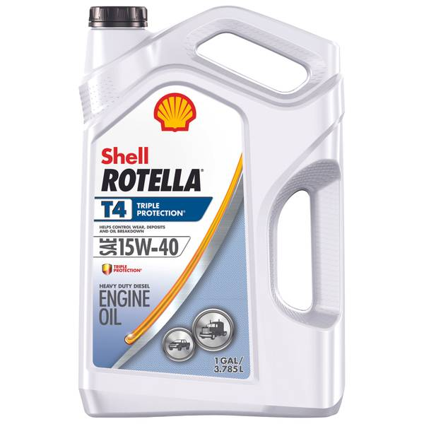 Rotella T Triple Protection Multi - Grade SAE 15W40 Conventional Motor Oil