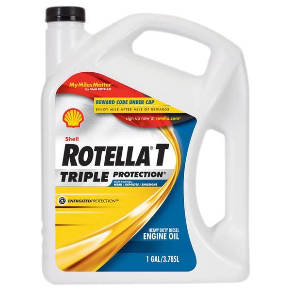 Shell rotella t triple protection multi grade sae 15w40 for 55 gallon motor oil prices